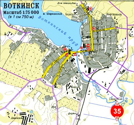 Карта города Всеволожск